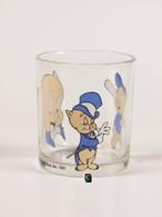 Bicchiere O Bicchieri Nutella Kinder Ferrero 1992 - Warner Bros. 2 - Porky  ( Glass - Glasses - Verres - Vasos - Glaser - Bicchieri