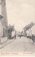 Deux - Acren - Grand' Rue - Très Belle Carte Animée - état Voir Scan. ( Avec Cachet J.B. Bernard Brigatier Des Douane) - Lessines