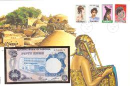 FDC Mit Geldschein 50 Kobo Bankfrisch  Nigeria - Nigeria