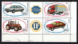 ITALIA - 1984 - COSTRUZIONI AUTOMOBILISTICHE ITALIANE - MNH - 1946-.. Republiek