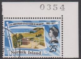 Norfolk Island ASC 198 1977 Silver Jubilee, Used - Norfolk Island