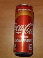 Lattina Italia - Coca Cola - 33 Cl. - Vinci Una Corsa 2018 - Latas
