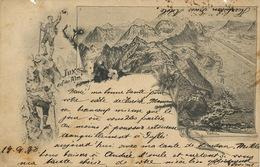 Vaduz P. Used 1898 2 Defects At The Top - Liechtenstein