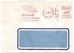 LOIRE ATLANTIQUE - Dépt N° 44 = St MARS La JAILLE 1959 = EMA Illustrée D'une MOISSONNEUSE = Ets BRAUD - EMA (Printer Machine)