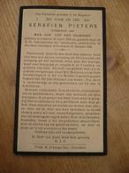 Lokeren Heiende René Pieters 1904 1929 - Devotieprenten