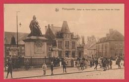 Philippeville - Statue De Marie-Louise, Première Reine Des Belges - Superbe Animation ( Voir Verso ) - Philippeville