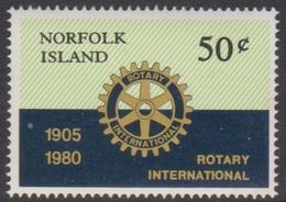 Norfolk Island ASC 235 1980 Rotary International, Mint Never Hinged - Norfolk Island