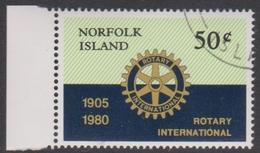 Norfolk Island ASC 235 1980 Rotary International, Used - Norfolk Island