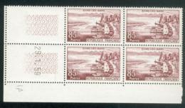 Lot 1129 France Coin Daté N° 1193 Du 29/1/1959 (**) - Dated Corners