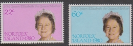 Norfolk Island ASC 252-252 1980 Queen Mother, Mint Never Hinged - Norfolk Island