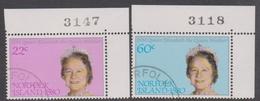 Norfolk Island ASC 252-252 1980 Queen Mother, Used - Norfolk Island