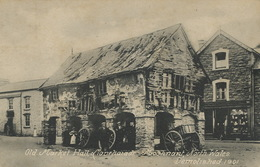 Old Market Hall Llanrhaiadr Mochnant North Wales Demolished 1901 - Pays De Galles