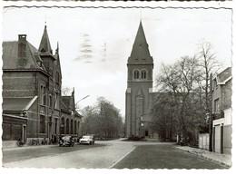 CPSM - Leopoldsburg - Posterijen En Kerk / Bourg-Léopold - La Poste Et L'Eglise - Uitg. J. Prevot - 2 Scans - Leopoldsburg