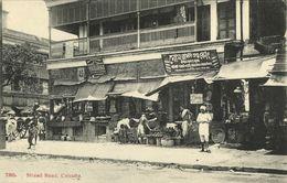 India, CALCUTTA KOLKATA, Strand Road, Shops (1910s) Postcard - India