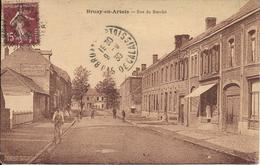 BRUAY EN ARTOIS Rue Du Marché - Altri Comuni