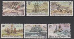 Norfolk Island ASC 286-291 1982 Shipwrecks, Used - Ile Norfolk