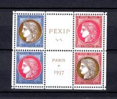 RARE COEUR PEXIP 1937 NEUF Sans GOMME Coté 240 Euro PAS D'AMINCI (REPRODUCTION) - Neufs