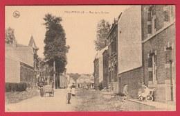 Philippeville - Rue De La Station ... Carte Animée  ( Voir Verso ) - Philippeville