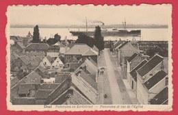 Doel - Panorama En Kerkstraat ( Verso Zien ) - Beveren-Waas