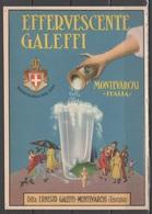 Pubblicitaria - Effervescente Galeffi - Montevarchi       (c499) - Advertising