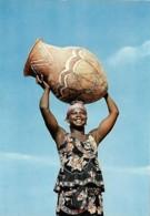 Afrique Africa Femme à L'amphore  Woman With A Jar - Afrique