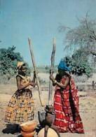 Afrique Africa Pileuses Women Grinding - Afrique