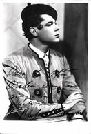 FLAMENCO Dancer Danseur - RAFAEL CAMACHO Autograph Dedicacee 1950's Photo By Carmen - Gay Int - Fotos Dedicadas