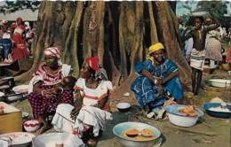 Afrique Africa Scène De Marché  Market Scene - Afrique