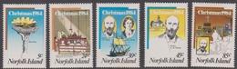 Norfolk Island ASC 344-348 1984 Christmas, Mint Never Hinged - Norfolk Island