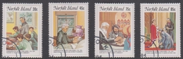 Norfolk Island ASC 349-352 1984 Nobbs, Used - Norfolk Island