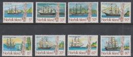 Norfolk Island ASC 353-360 1985 Whailing Ships, Mint Never Hinged - Norfolk Island