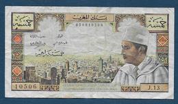 Maroc - Billet De 5 Dirhams - Maroc