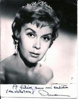 "MOVIE CINEMA - Spanish Actress ANA MARISCAL In ""La Violeta"" Autograph Dedicacee Photo 1950's - Foto Dedicate"