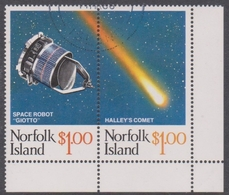 Norfolk Island ASC 378-379 1986 Haley's Comet, Used - Norfolk Island