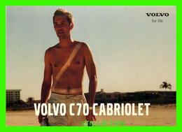 ADVERTISING, PUBLICITÉ - VOITURE VOLVO C70 CABRIOLET - INTERSPORT - - Publicité