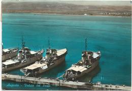 W1428 Augusta (Siracusa) - Porto - Marina Militare Italiana - Corvette Gabbiano Cormorano Pellicano Danaide - Navi Ships - Guerra