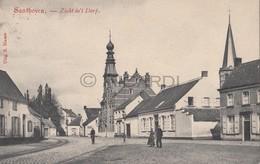 Postkaart/Carte Postale ZANDHOVEN Zicht In 't Dorp 1908 (C42) - Zandhoven