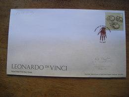 Leonardo Da Vinci, Studies Of Cats, études De Chats - FDC