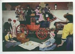 Drag Vers 1830 Par Kellner à Paris (musée Vaux équipages) Cp Vierge N°8 (costumes époque) - Taxi & Carrozzelle