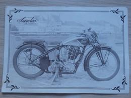 MOTO / MOTOS - SAROLEA - Monotube Racing 1936 - Imp: J. Gallet - Voir 2 Scans. - Moto