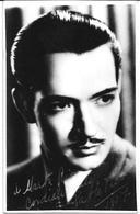 THEATER CINEMA - Chilean Actor PABLO VICUÑA Autograph Hand Signed Dedicacee Photo 1937 - Foto Dedicate
