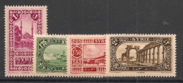 Syrie - 1925 - N°Yv. 158 - 159 - 160 - 161 - 4 Valeurs - Neuf Luxe ** / MNH / Postfrisch - Syria (1919-1945)