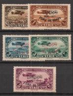 Syrie - 1936 - Poste Aérienne PA N°Yv. 69A à 69E - Foire De Damas - Série Complète - Neuf Luxe ** / MNH / Postfrisch - Siria (1919-1945)