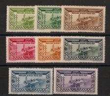 Syrie - 1937 - Poste Aérienne PA N°Yv. 70 à 77 - Série Complète - Neuf Luxe ** / MNH / Postfrisch - Siria (1919-1945)