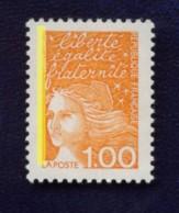 1.00 F MARIANNE DU 14 JUILLET PHOSPHORE A GAUCHE - CERES N° 3073 Ib  Cote 11 € - 1997-04 Marianne Of July 14th