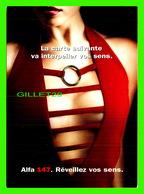 ADVERTISING, PUBLICITÉ - VOITURE ALFA 147, RÉVEILLEZ VOS SENS - BOOMERANG - - Publicité