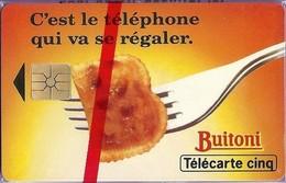 BUITONI - TELECARTE CINQ - Lebensmittel