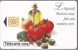 BUITONI - TELECARTE CINQ - Alimentation