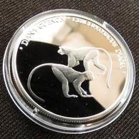 Liberia 10 $ 2000 Monkey Silver 999 - Liberia