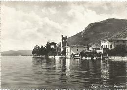 W1436 Predore (Bergamo) - Lago D'Iseo - Panorama / Viaggiata 1955 - Italia